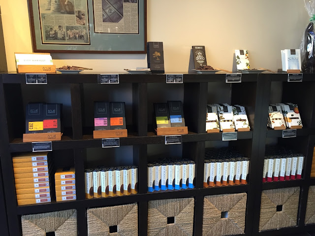 Collection of Eclat Chocolate Bars and samples