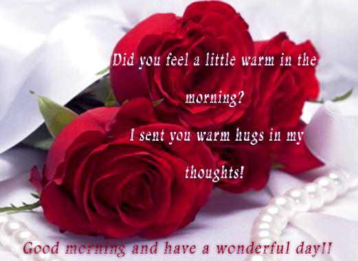 Www romantic good morning sms