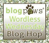 BlogPaws Wordless Wednesday Blog Hop Badge