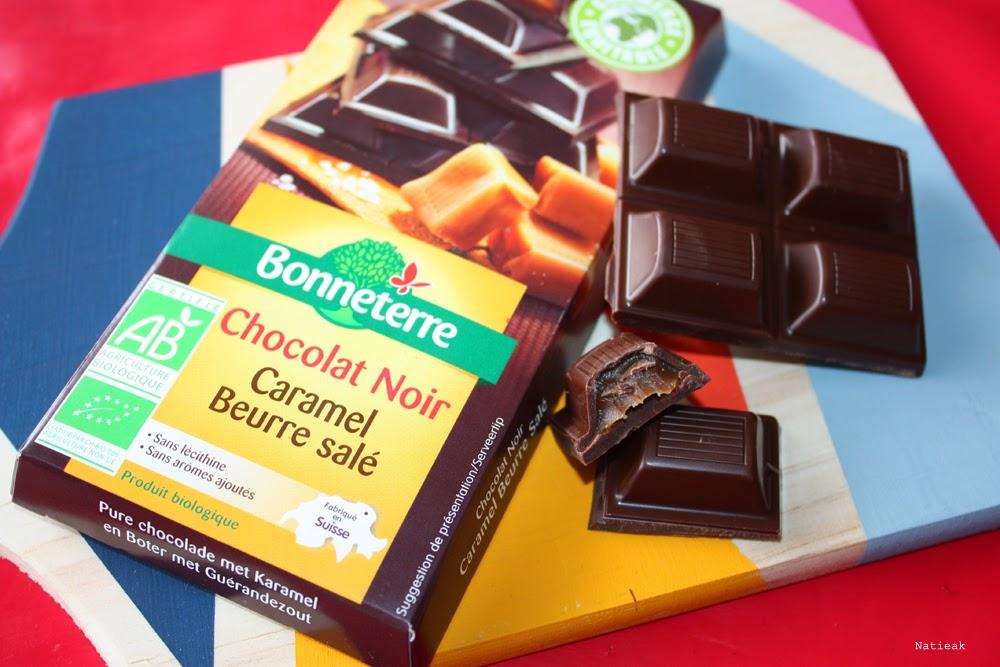 Le chocolat noir caramel beurre salé
