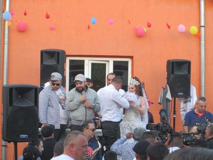 Florin Salam la o nuntă de romi din Municipiul Calafat