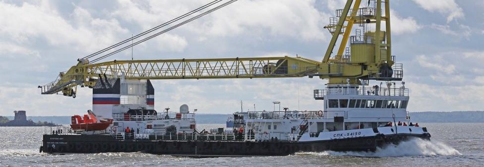 150-тонний плавучий кран проєкту 02690