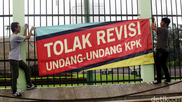Ketua KPK Siap Mundur Bila UU KPK Direvisi, ini Kata Menkum HAM