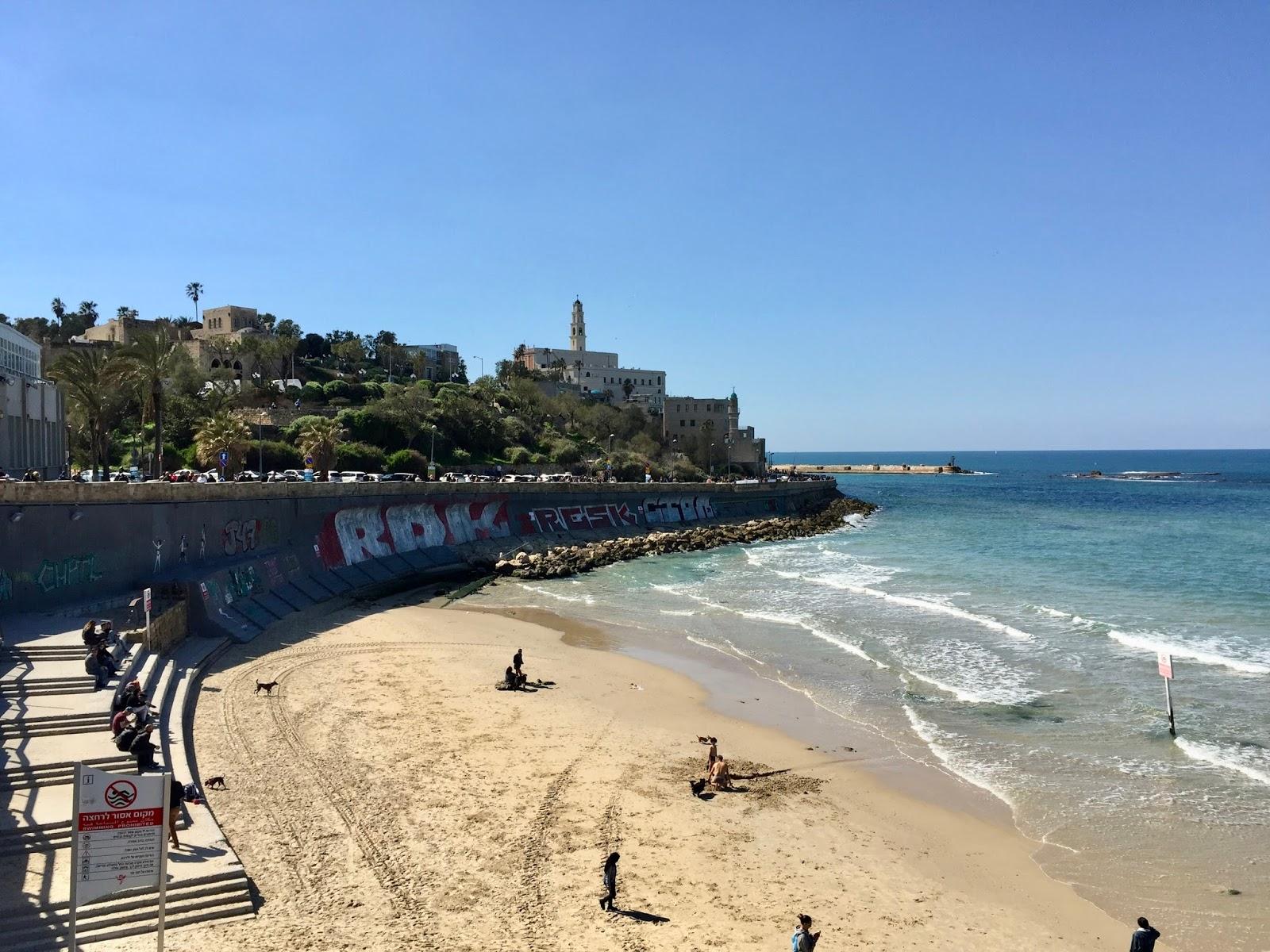 Pohled na Starou Jaffu Israel