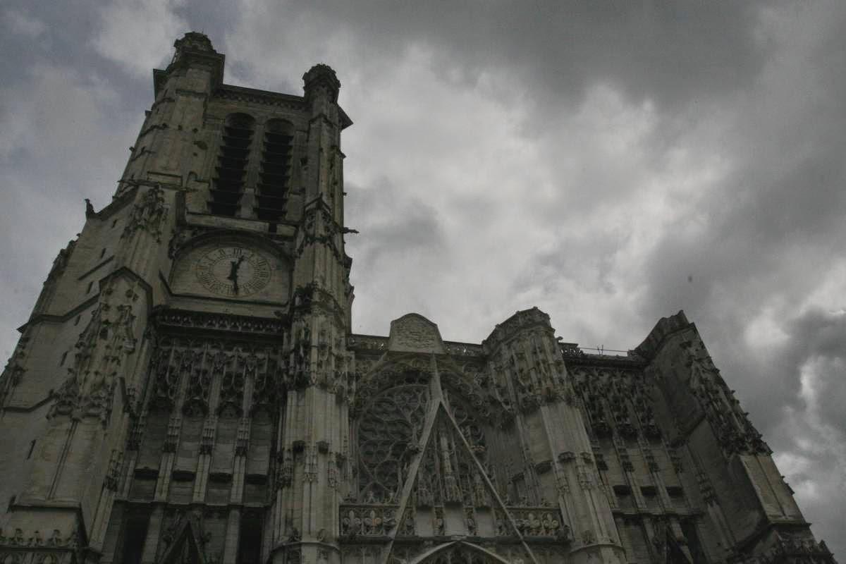 Kathedraal van Troyes in de Champagne, Frankrijk
