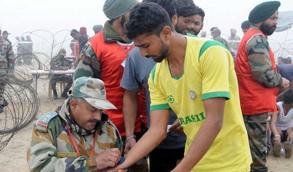 Farrukhabad Army Rally, Indian Army Rally, Open Bharti Rally