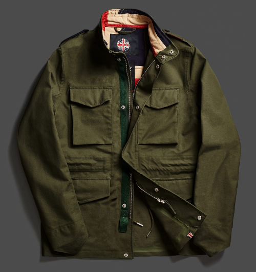 983ced55ebd The Waterproof M-65 jacket is based on the US military jacket made famous by  Travis Bickle. This style of jacket can look very stylish when dressed up,  ...