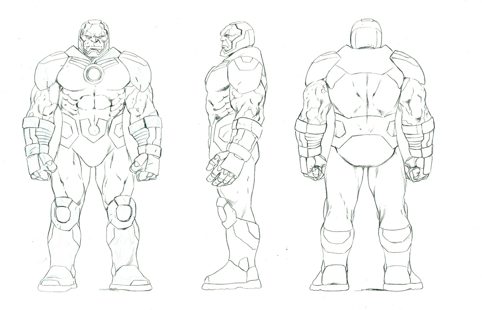 The Dork Review Dc Icon Action Figure Model Sheets By