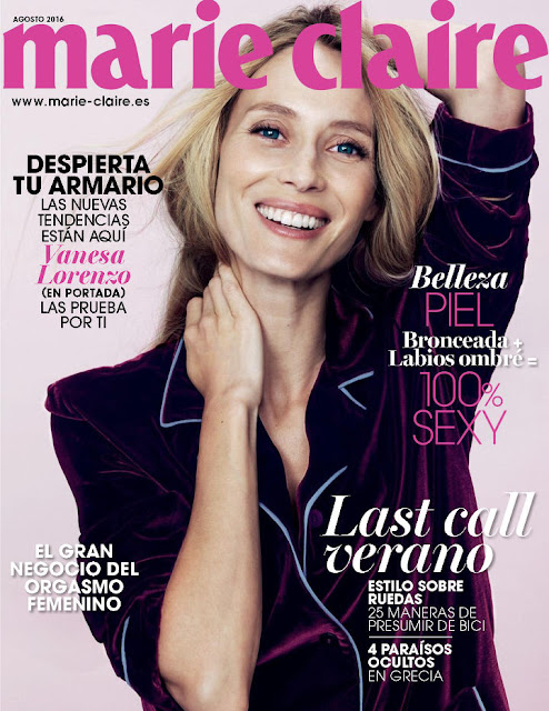 Fashion Model, @ Vanesa Lorenzo - Marie Claire Spain, August 2016