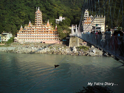 Swarg Ashram - A very famous area of Rishikesh