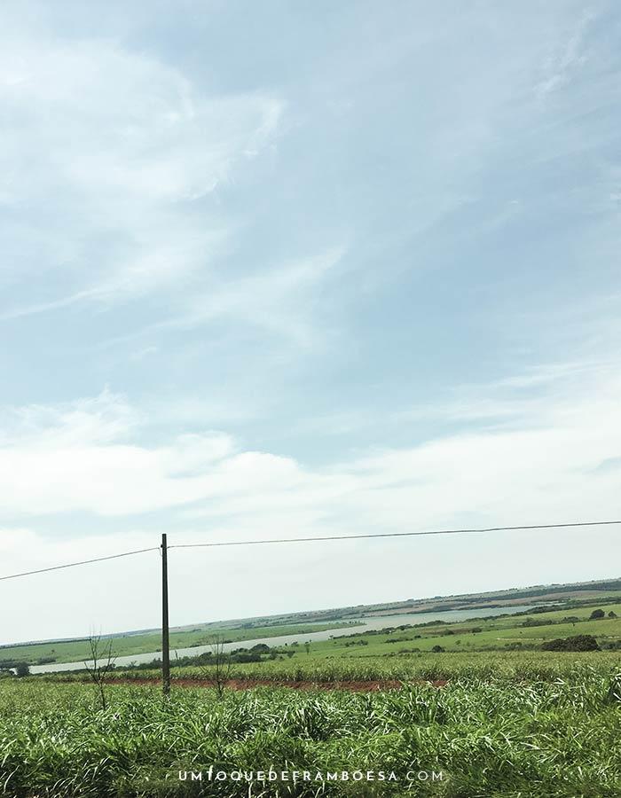 Divisa entre os estados de São Paulo e Paraná, onde passei no segundo dia de viagem de carro