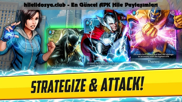 marvel battle lines hile apk