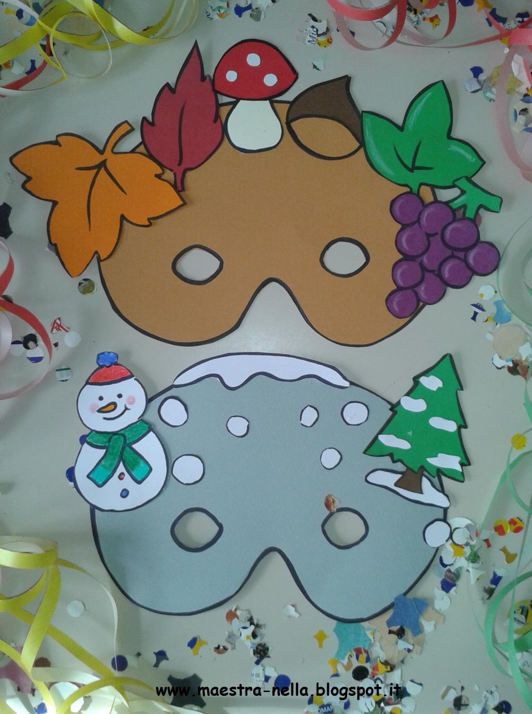 Maestra nella carnevale maschere 4 stagioni for Maestra mary carnevale