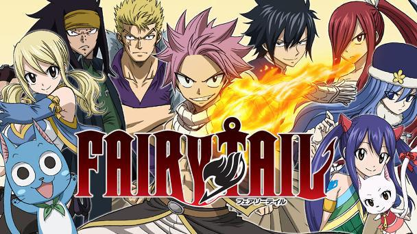 Fairy Tail - Top Best anime by A-1 Pictures List