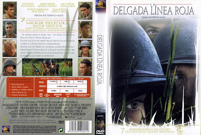 La delgada línea roja | 1998 | The Thin Red Line | DvD Caratula, cover