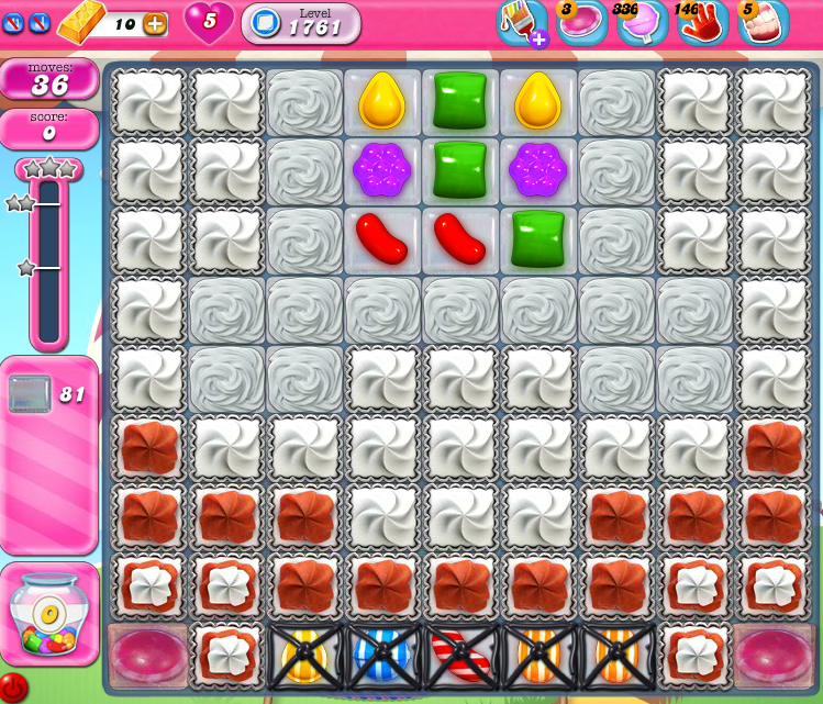Candy Crush Saga 1761