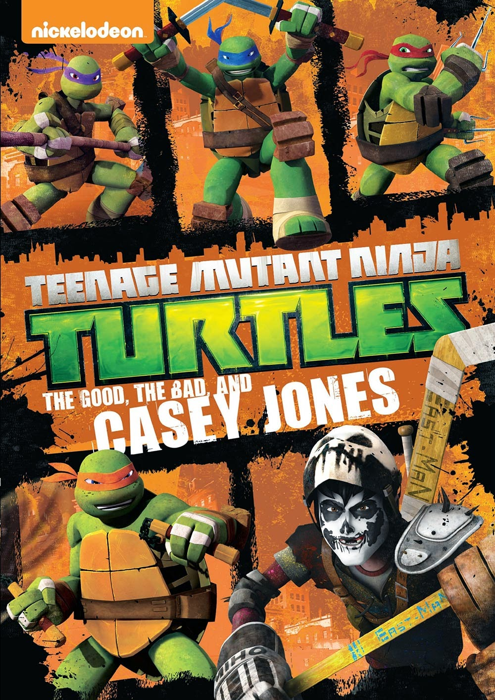 DVD Review - Teenage Mutant Ninja Turtles: The Good, The Bad, And Casey Jones