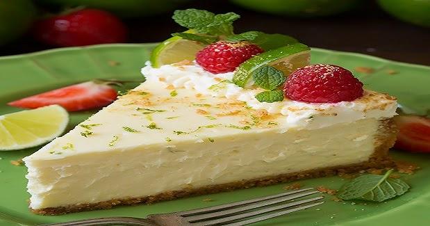 Desserts Recipes: Key Lime Cheesecake Recipe