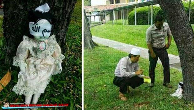 Heboh, Ada Boneka Kutukan Gegerkan Warga Singapura