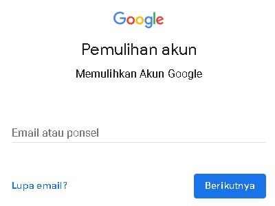 Lupa Sandi Gmail Reset Password Lewat No Hp Dan Email Carahpc