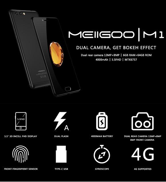 Meiigoo M1 4G Phablet