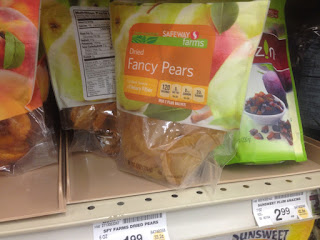 Dried Fancy Pears, Safeway Farms, 6 oz - Safeway