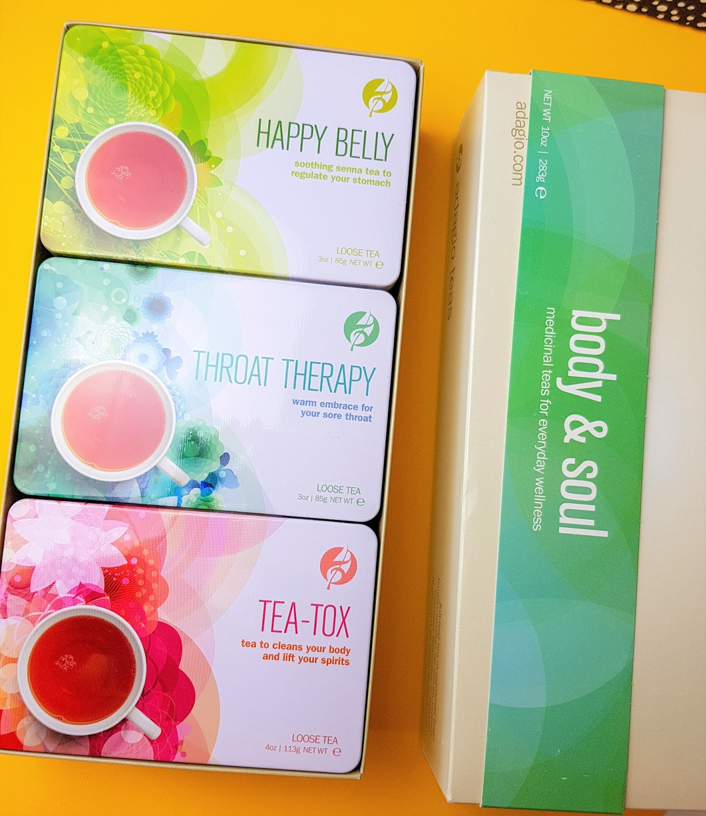 Finding Balance Time With Adagio Tea + A Giveaway  body and soul  Loose tea Selection