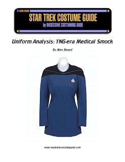 TNG medical smock costume analysis