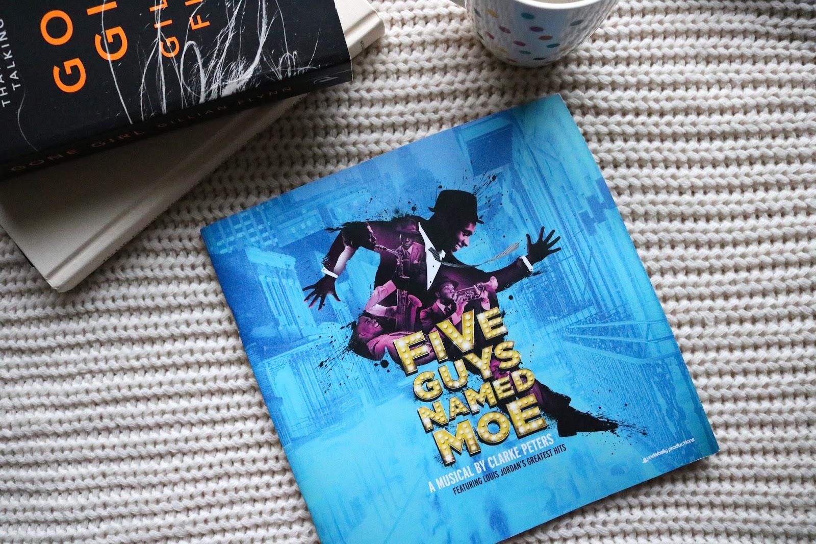 Five Guys Named Moe programme