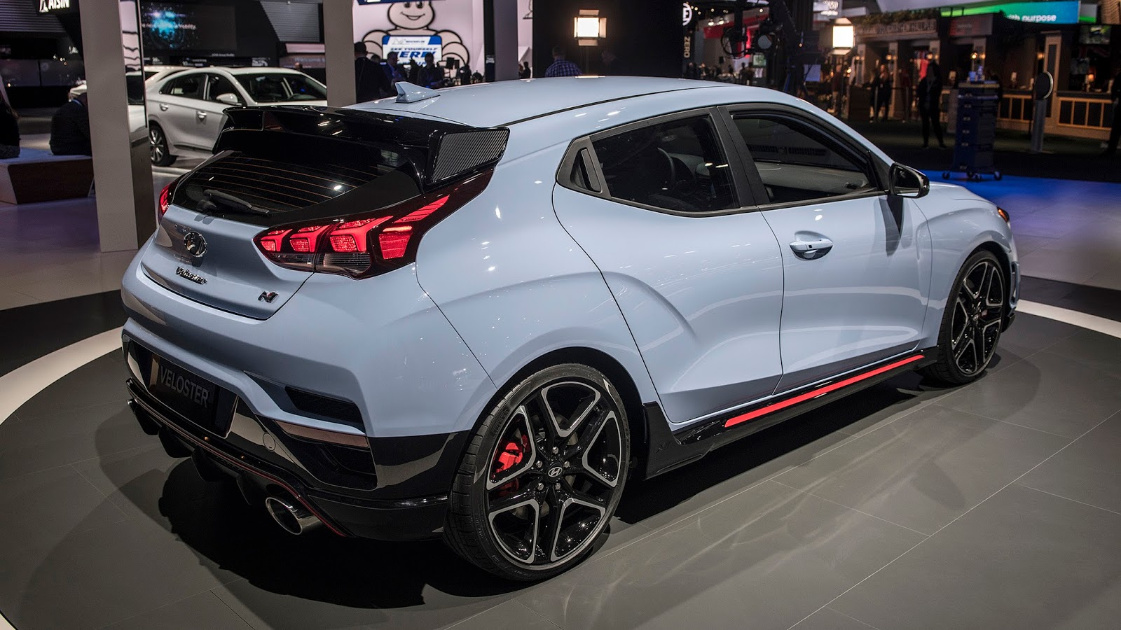 automotiveblogz hyundai veloster n detroit 2018. Black Bedroom Furniture Sets. Home Design Ideas
