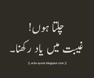 Urdu Lovely Quotes 7