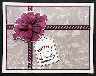 Heart's Delight Cards, Bring on the Presents, Stampin' Up! Holiday 2018