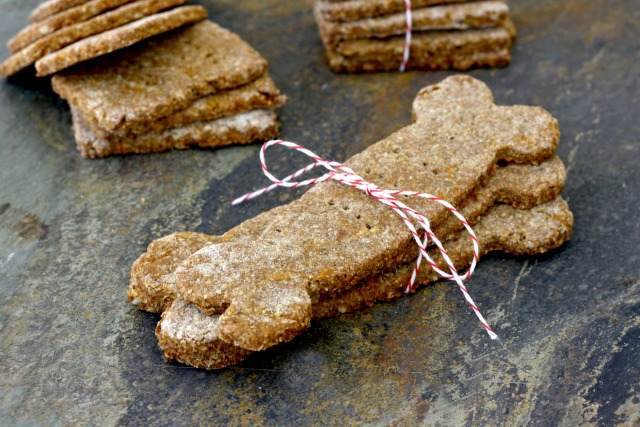 Sunflower seed & carrot dog biscuits are a wholesome homemade treat for your family pet.