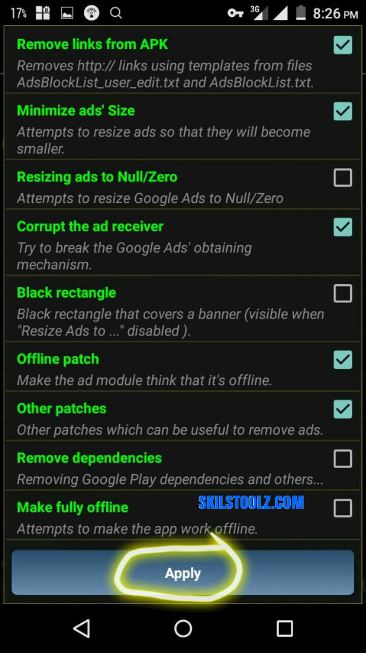 how to add ads in android app