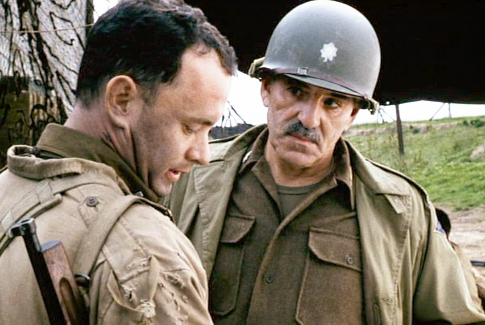 An analysis of captain john miller in the movie saving private ryan