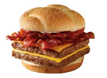 fake food watch dissecting wendy s baconator burger at
