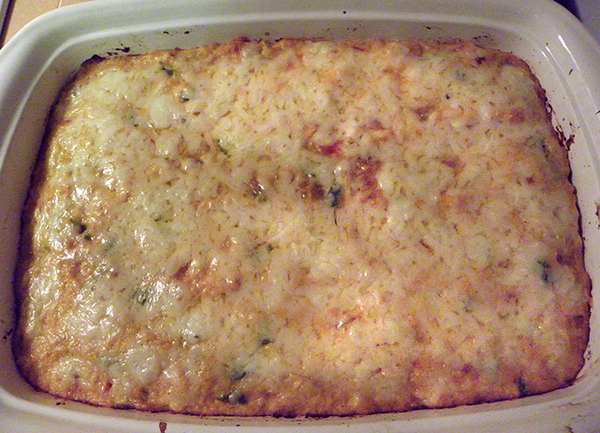 casserole baked and complete