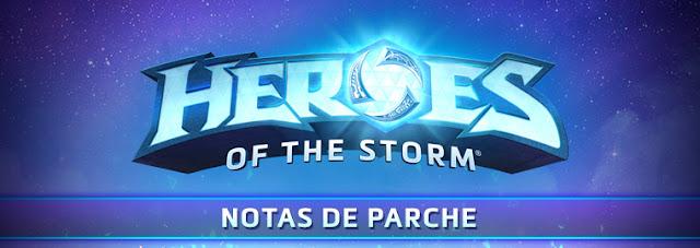 Nuevo parche en  Heroes of the storm 9 de mayo de 2018 !