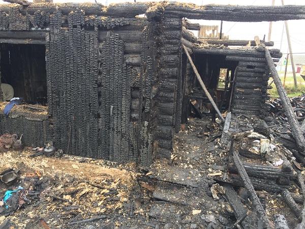 (ФОТО)Детская шалость с огнём в очередной раз стала причиной пожара