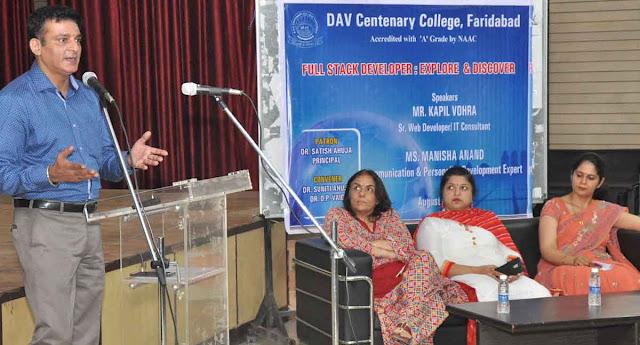 dav-centenary-college-faridabad-workshop
