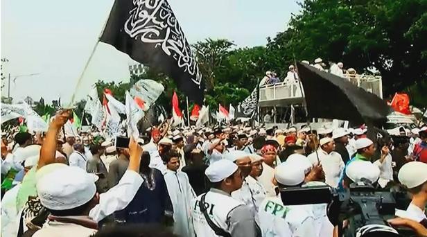 Habib Rizieq Tiba-Tiba Berorasi di Tengah Massa Aksi 55, Ternyata