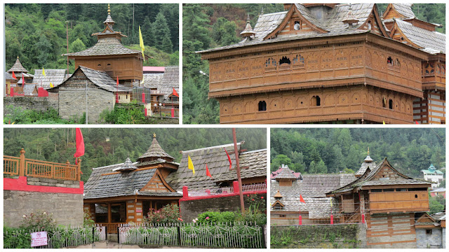Unique architecture of Bhimkali Temple, Sarahan