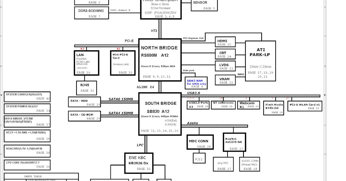 hp g62 laptop diagram