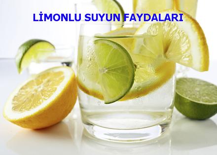 LİMONLU SUYUN FAYDALARI