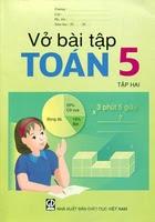 Vở Bài Tập Toán Lớp 5 Tập 2 - Nhiều Tác Giả