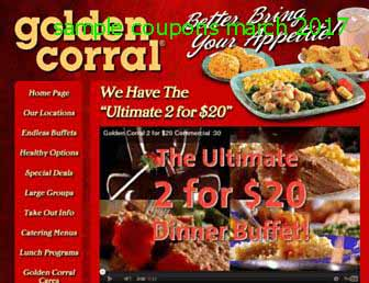 graphic regarding Golden Corral Coupons Buy One Get One Free Printable called Golden corral discount codes pa