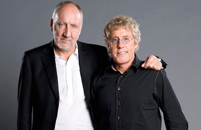 "Roger Daltrey & Pete Townshend... ""as usual, THE WHO are always on top of everything""... as Keith Moon so says on stage."