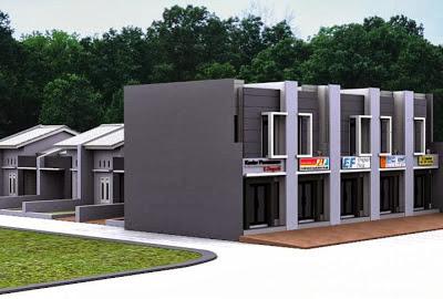 desain ruko 2 lantai minimalis modern ~ gambar rumah idaman
