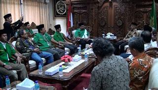 Silaturahmi GP Anshor Ke PP Muhammadiyah