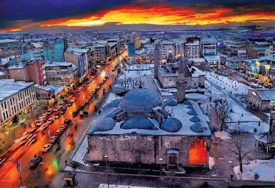 Erzurum şehir görüntüsü